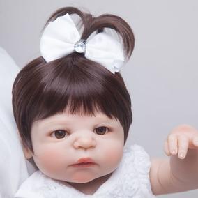 Bebê Boneca Reborn De Vinil Siliconado A Pronta Entrega 55cm