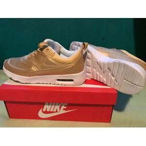 Nike Max Air Thea Gold Originales Aaa Dorados