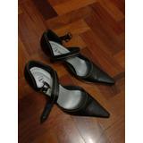 Zapatos De Taco Negro Para Fiesta De Mujer