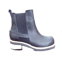 Zapato Dama Bota Cuero Pepe Cantero Liquidacion