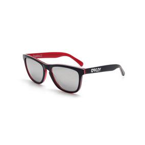Gafas Oakley Frogskins Lx Navy / Chrome Iridium