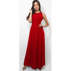 Vestido Longo Casual Drapeado Vinho Marsala Viscolycr Vl1007