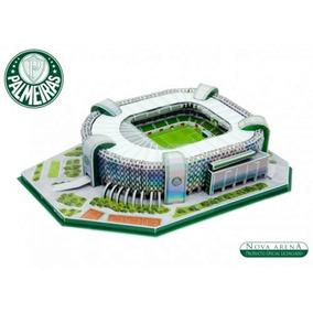 Estadio Maquete 3d Arena Palmeiras 107 Peças Para Montar
