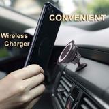 Cargador Inalambrico 360 P/auto Para Samsung S6 S7 S8 Note 5