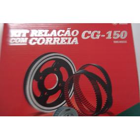 Kit Relação Cg 150 Por Correia Dentada Wgk