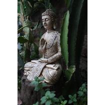 Estatua Buda Grande 33cm Para Interior Y Exterior