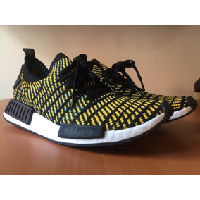 adidas Nmd R1 Stlt Black Yellow 10.5 Us