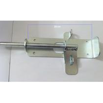 Ferrolho Zincado Reforçado Para Porta Portão Porteiras 20 Cm