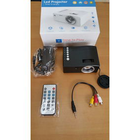 Mini Video Beam Proyector Led Microsd Hdmi Usb Av