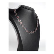 Collar Acero Quirúrgico - Estrella Roja