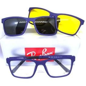 Armação Masculino Clipon - Óculos De Sol no Mercado Livre Brasil 1cc11b7785