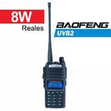 Handy Baofeng Uv82 8w Handie Bibanda Radio Equipo Walkie Tal