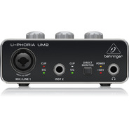 Behringer Um2 - Interfaz De Audio Usb 2x2