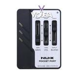 Nux Pocket Port Interface De Grabación Hd 192 Khz, Excelente