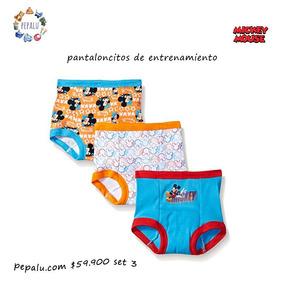 Pantaloncitos Entrenadores Mickey Mouse Set De 3 Originales
