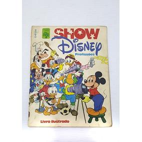 Álbum Show Disney Profissões Completo - Bom Estado!
