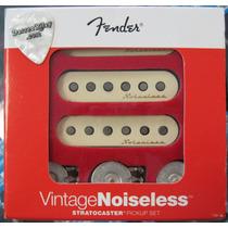 Captador Fender Guitarra Strato Noiseless Vintage Set 3