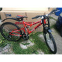 Bicicleta Bimex Vampire R26 18v Doble Suspension Montaña