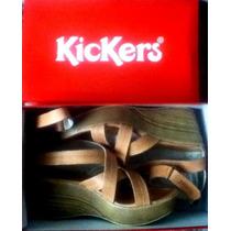 Sandalias Kickers Para Dama Originales