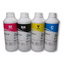 4 Litros De Tinta Corante Para Impressoras Epson Inktec