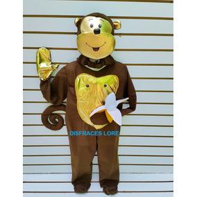 Disfraz De Chango Talla 10 Años Changuito Mono