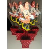 Centros De Mesa Minnie -mickey- Barbie- Rapunzel- Pepa Pig