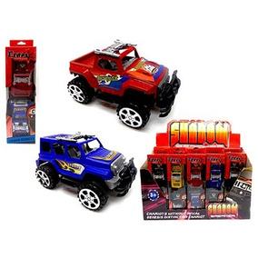 Brinquedo Infantil Kit Jeep De Fricção Com 2 Unidades