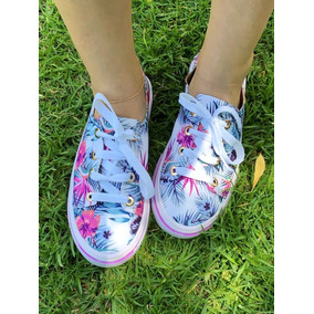 Zapato Dama Mayoreo 10 Pars Tenis Choclo Elige Color Y Talle