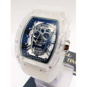 Reloj Skeleton Craneo Richard M I L L E Skull Blanco Envío G