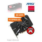 Tarjeta De Video Msi Radeon Rx 550 Aero Itx 4gb Gddr5 128-bi