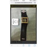 Relógio Nike Hammer Wc0021 Dourado