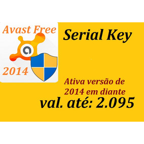 Serial Key Avast Free , Versão 2014