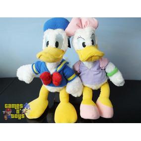 Pato Donald E Margarida Pelúcias Disney Turma Do Mickey
