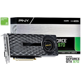 Vga Placa De Vídeo Pny Nvidia Geforce Gtx 970 4gb Gddr5 256b