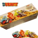 Camion Volcador Grande + Pala Mecanica Constructor Duravit