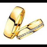 Argollas De Matrimonio Oro Amarillo 24k Matrimoniales Plata