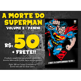 A Morte Do Superman, Volume 2, Panini - Com Desconto 50%