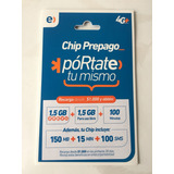 Chip Entel 150mb+15min+100sms