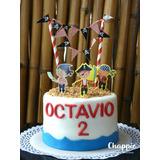 Torta Tematica Pirata Cake Topper