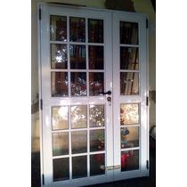Puerta Y 1/2 Dos Hojas Aluminio Pesado 120x200