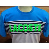 Camiseta Lacoste Live Em 100% Algodão Parcelado Em 12x Fixa