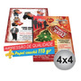 5000 Folhetos 15x21 115grs 4x4cores