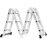Escada Multifuncional Alumí. Mor 4x3 150kg Frete Grátis Full
