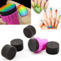 Esponja Para Degradado En Uñas Manicure Mujer Fashion Fiesta