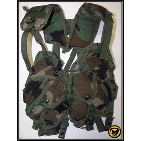 Colete Militar (woodland Us) Guerra Na Selva...