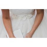 Vestido De Noiva Importado + Cinto Vera Wang