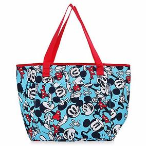 Bolsa Mickey Mouse Tote Térmica Disney Store Verano 2017