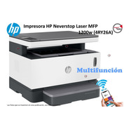 Impresora Hp Neverstop Laser Mfp 1200w (4ry26a) Multifuncion