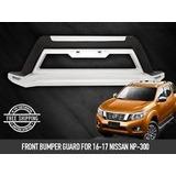 Bomper Defensa De Lujo Nissan Frontier Np300 2017
