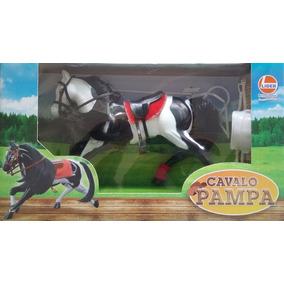 Cavalo Pampa Da Lider Brinquedos Com Acessórios